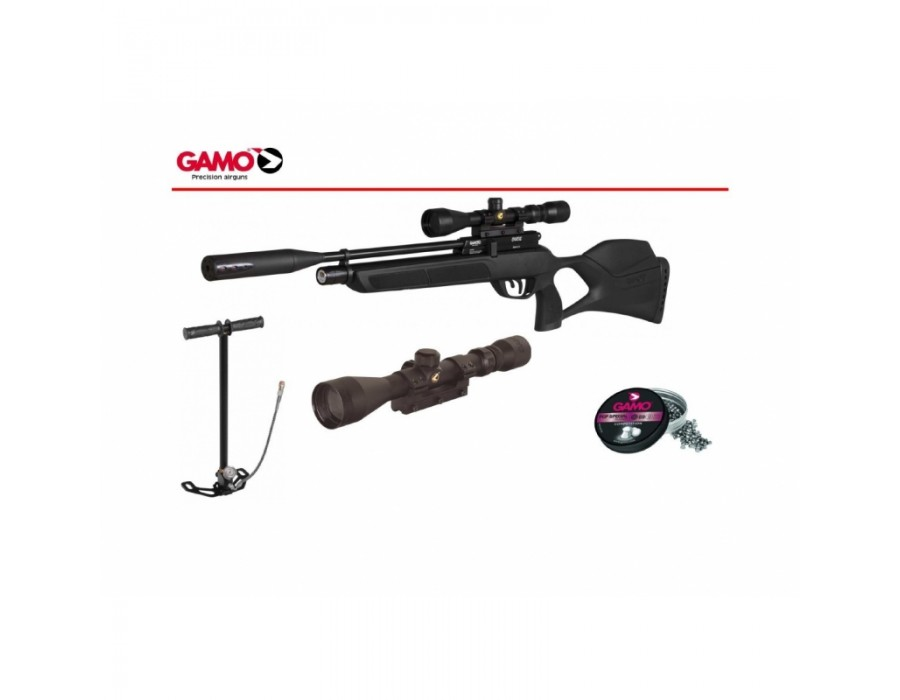 Carabina PCP Gamo Chacal Multitiro - Pack