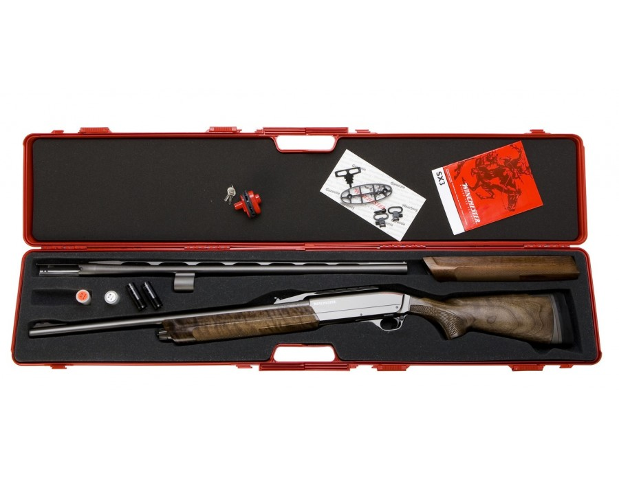 Escopeta repetidora winchester sx3 big game combo calibre 12