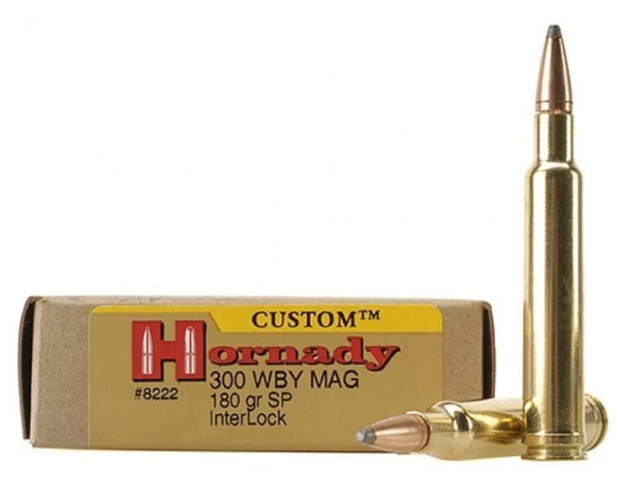 Balas Hornady Custom - 300 WM - 180 grs - Soft Point