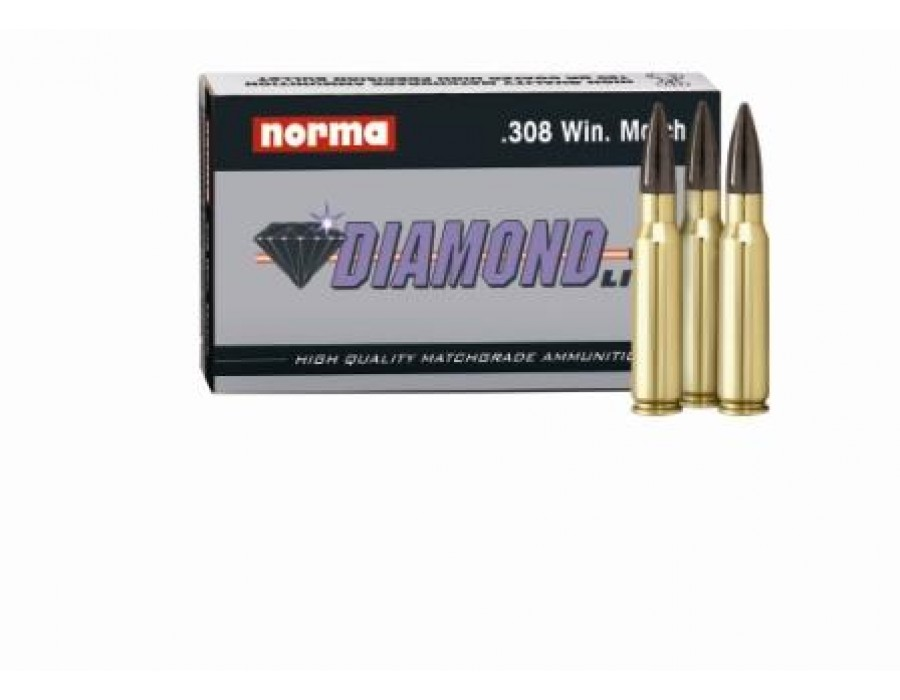 Balas Norma Diamond Line - 308 Win Match - 190 grs