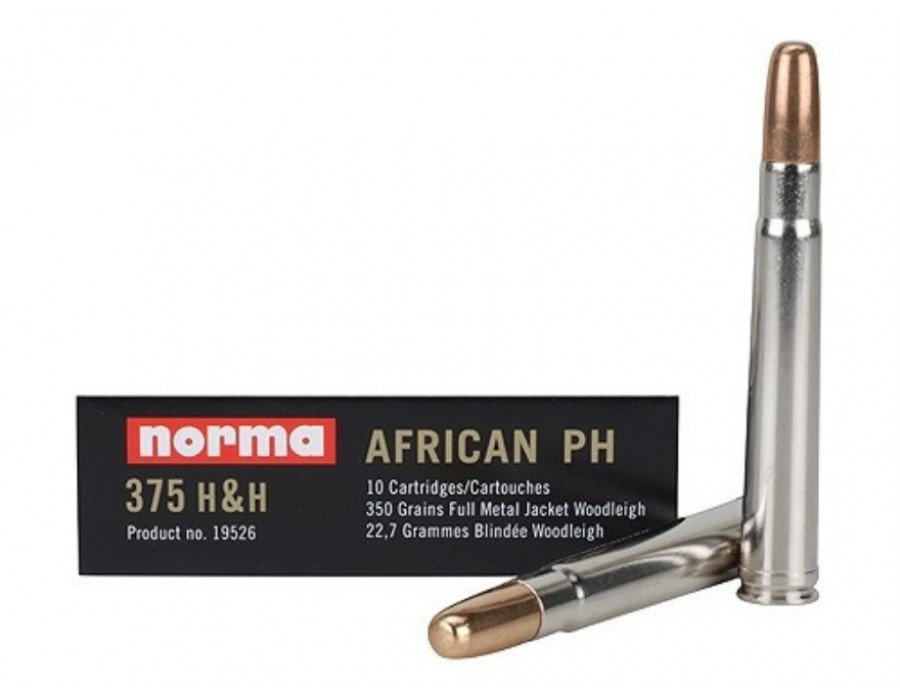 Balas Norma African PH - 375 H&H Mag - 350 grs - FMJ
