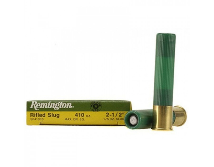 Cartucho bala Remington Slugger calibre 410 - 5,7 gramos