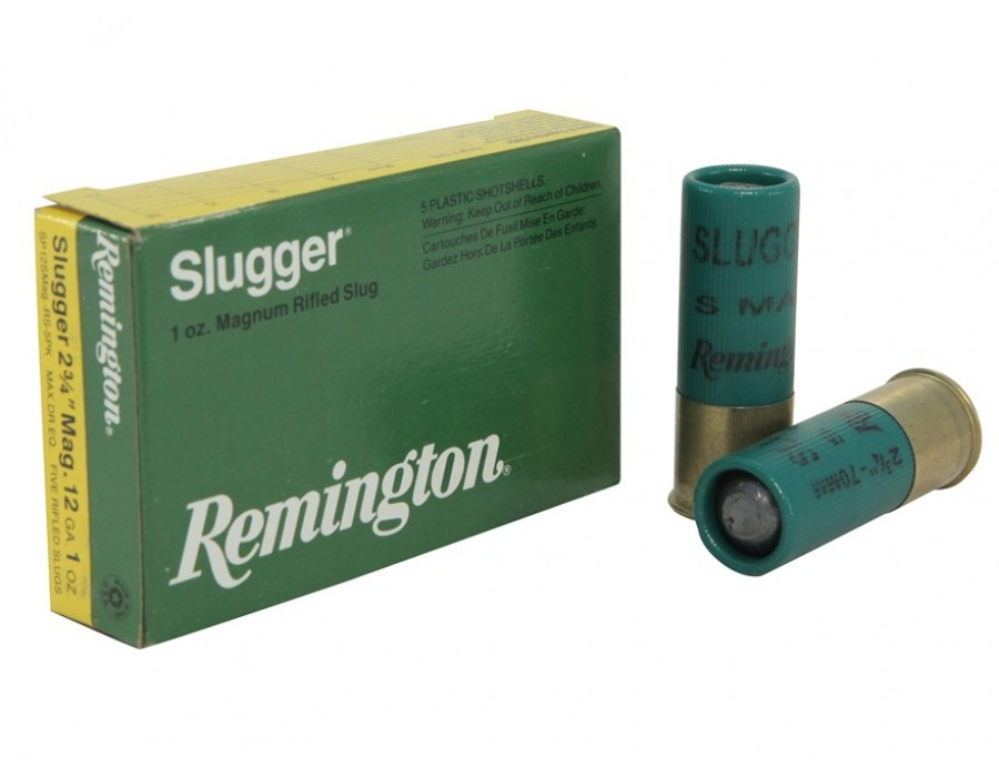 Cartucho bala Remington Slugger