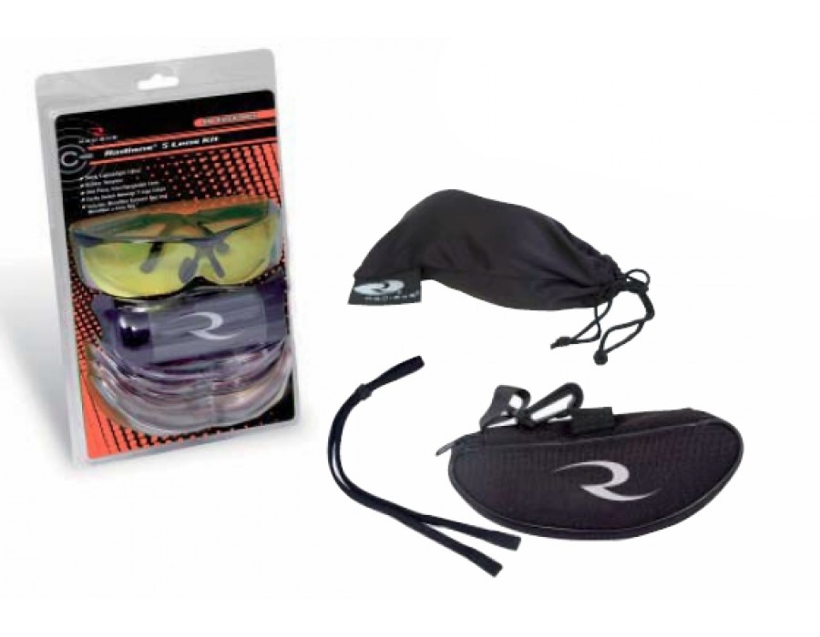 Gafas de tiro  radians (kit 5 lentes intercambiables)