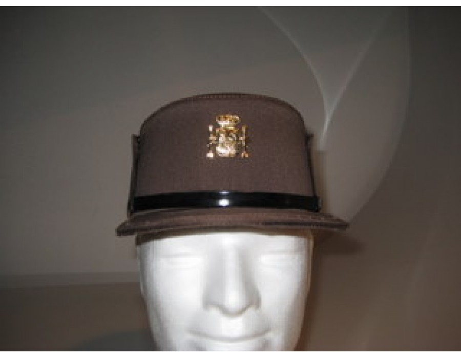 Gorra guarda marron forestal oficial