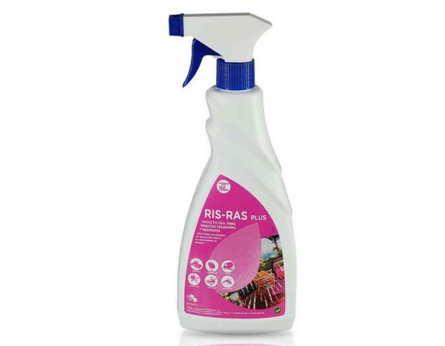 Insecticida risras plus  750 ml