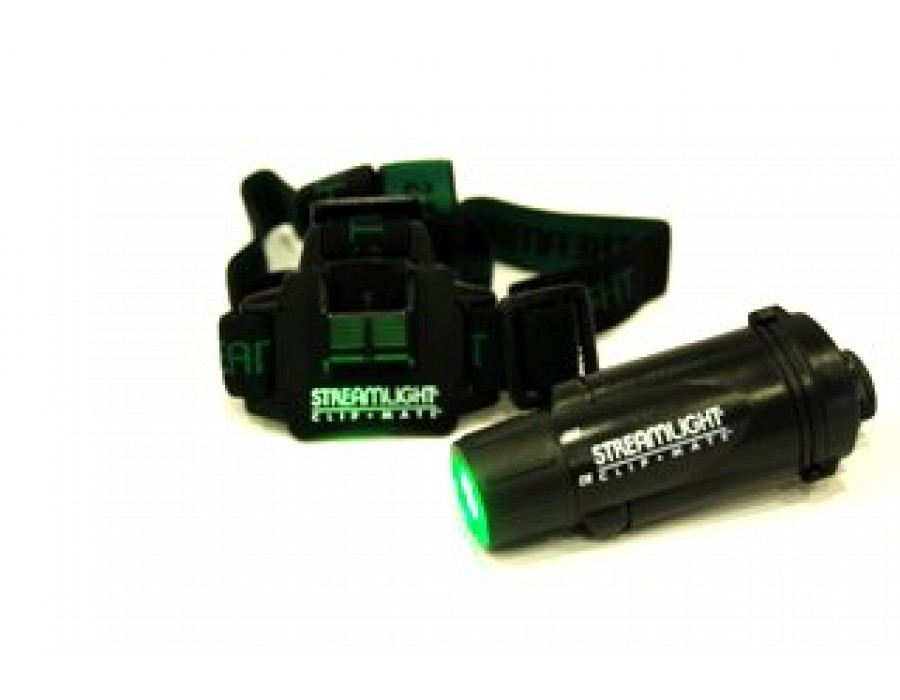 Linterna frontal clipmate 3 led verdes