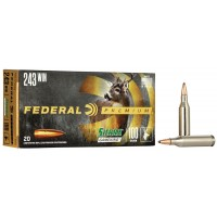 Balas Federal Sierra GameKing- 243 Win - 100 grs - Soft Point