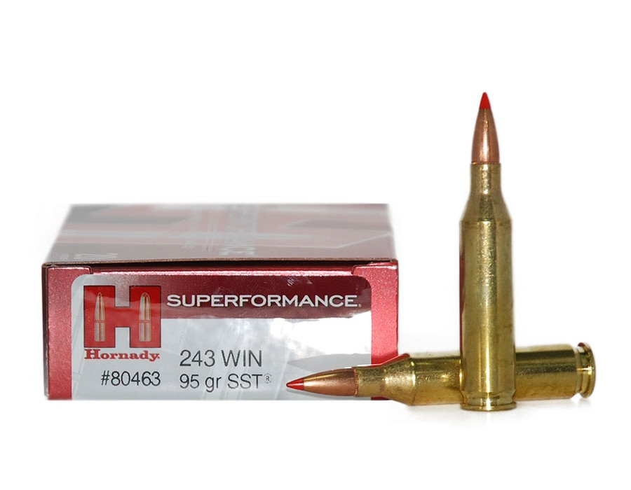 Balas Hornady Superformance - 243 Win - 95 grs - SST