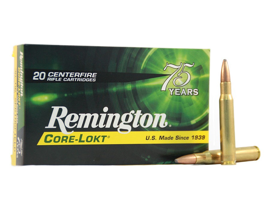 Balas Remington Core Lokt - 243 Win - 100 grs - Punta PSP