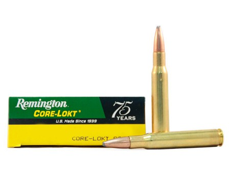 Balas Remington Core Lokt - 243 Win - 80 grs - Punta PSP