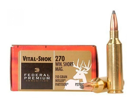 Balas Federal Premium - 270 Win - 150 grs - Nosler Partition