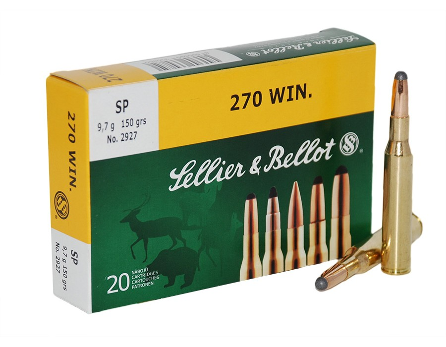 Balas Sellier & Bellot - 270 Win - 150 grs - Soft Point