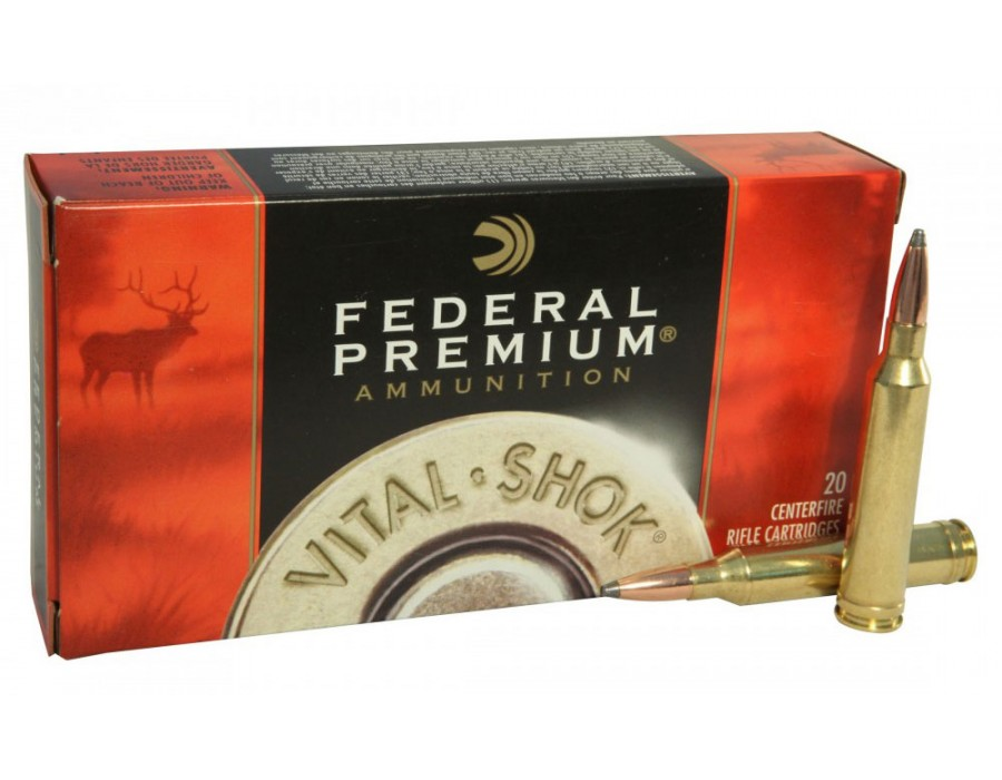 Balas Federal Premium - 280 Rem - 150 grs - Nosler Partition