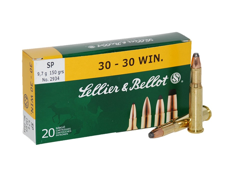 Balas Sellier & Bellot - 30-30 Win - 150 grs - Soft Point