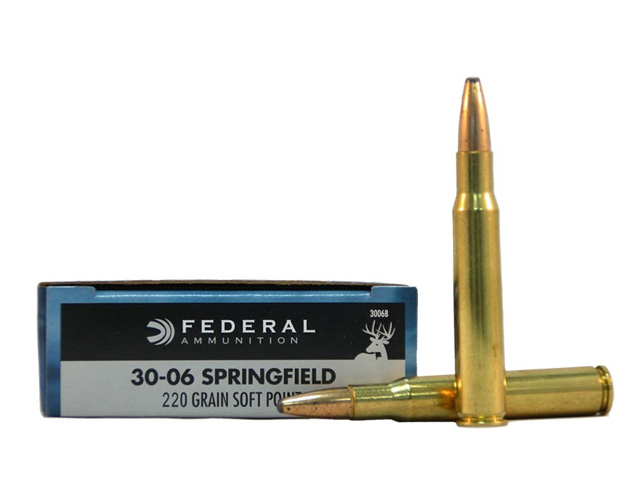 Balas Federal Classic - 30.06 - 220 grs - Soft Point