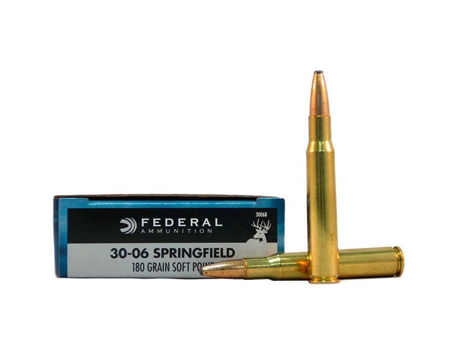 Balas Federal Classic - 30.06 - 180 grs - Soft Point