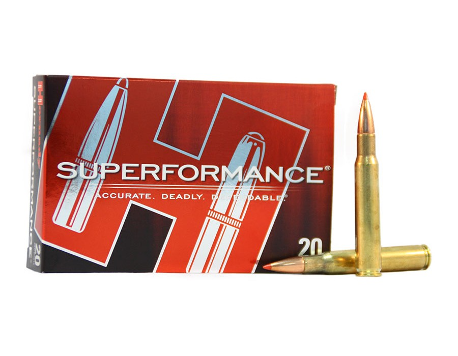 Balas Hornady Superformance - 30.06 - 165 grs - SST