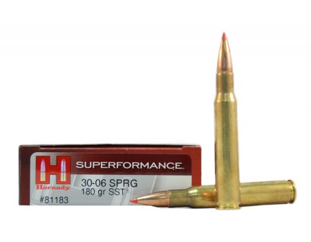Balas Hornady Superformance - 30.06 - 180 grs - SST