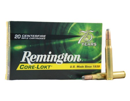 Balas Remington Core Lokt - 30.06 - 180 grs - Soft Point