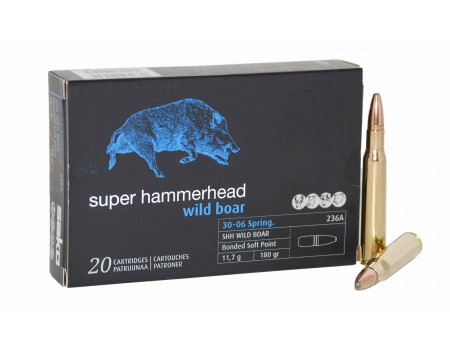 Balas Sako SHH Wild Boar - 30.06 - 180 grs - Bonded Soft Point