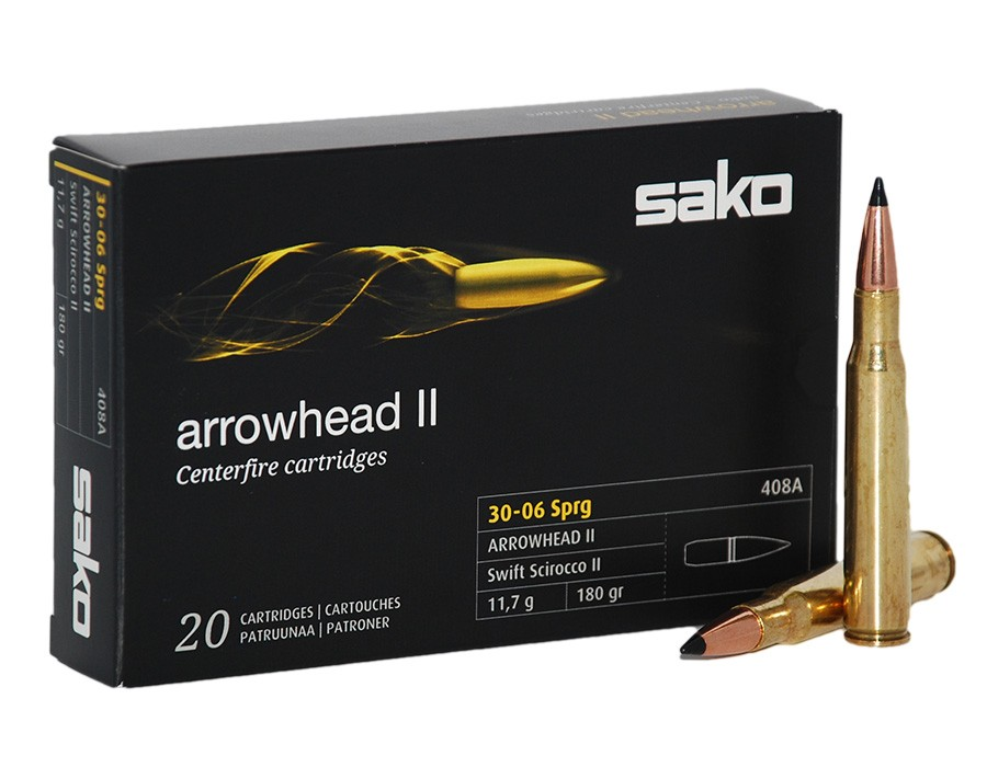 Balas Sako Arrowhead II - 30.06 - 180 grs - Soft Point