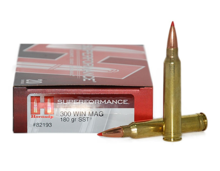 Balas Hornady Superformance - 300 Win Mag - 180 grs - SST