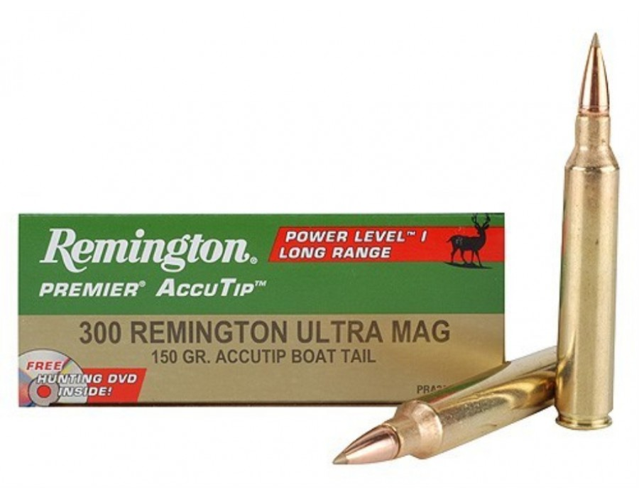 Balas Remington Accutip - 300 Ultra Mag - 150 grs (Level I)