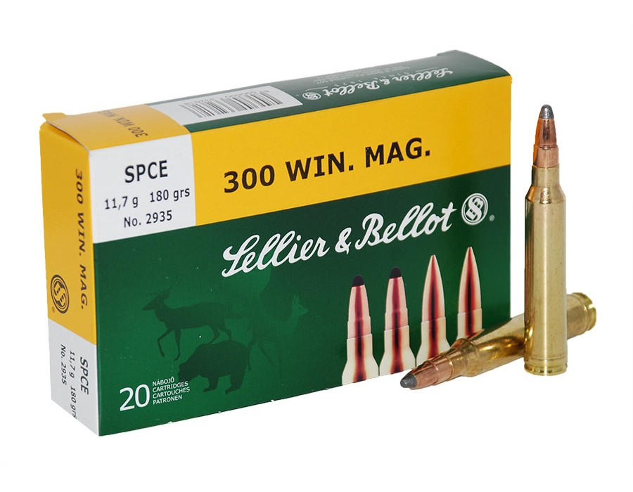 Balas Sellier & Bellot - 300 Win Mag - 180 grs - SPCE