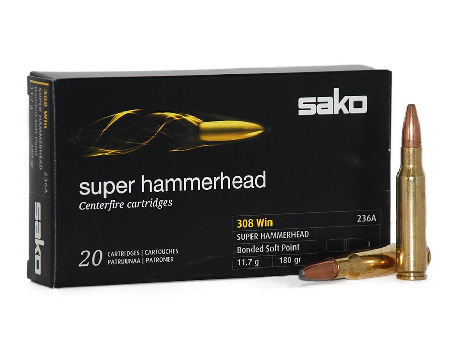 Balas Sako Arrowhead II - 308 Win - 180 grs - Soft Point