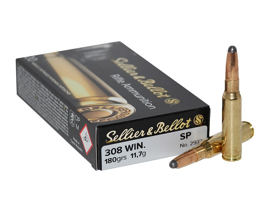Balas Sellier & Bellot - 308 Win - 180 grs - Soft Point