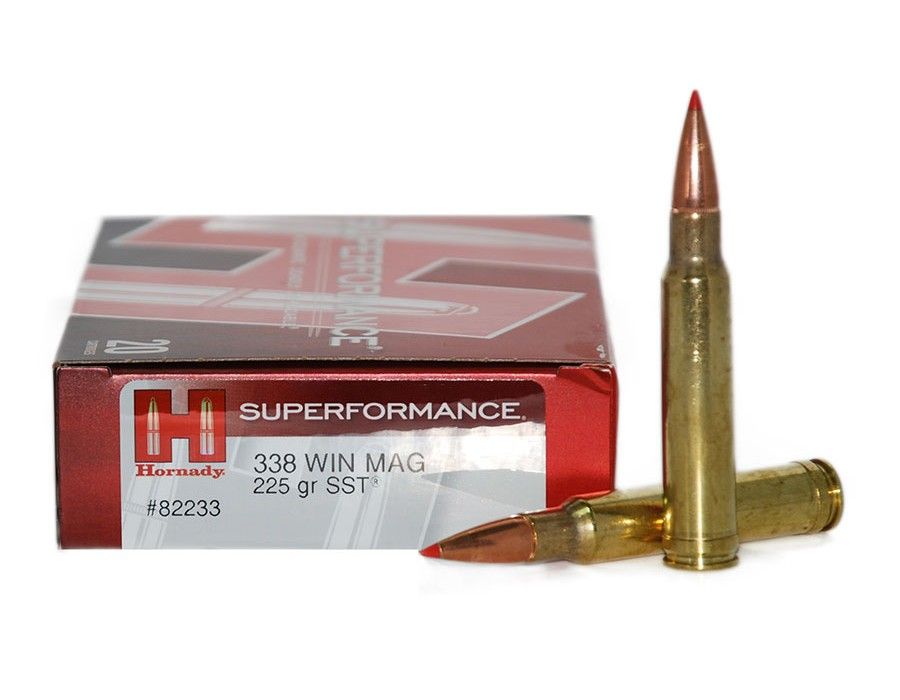 Balas Hornady Superformance - 338 Win Mag - 225 grs - SST