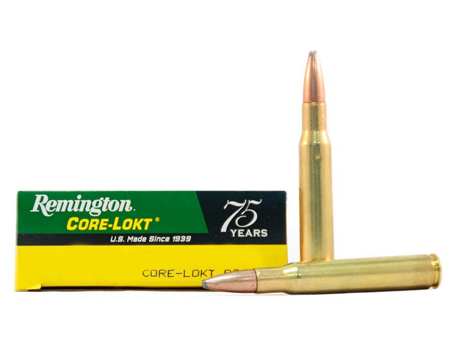 Balas Remington Core Lokt - 338 Win Mag - 250 grs - Punta PSP