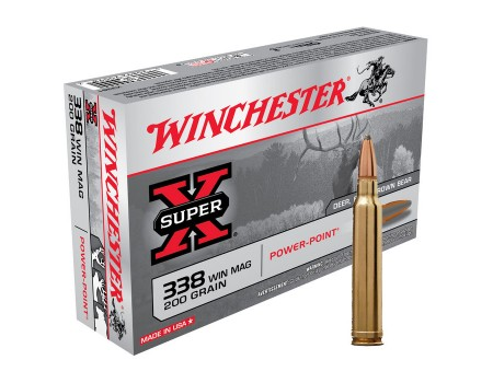 Balas Winchester Super X - 338 Win Mag - 200 grs - Powerpoint