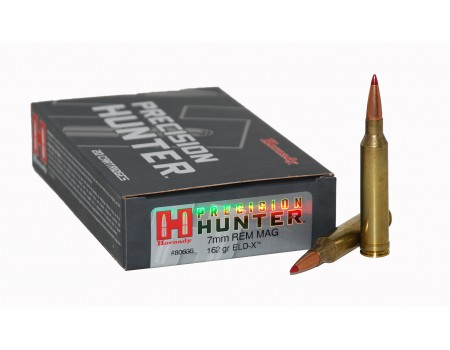 Balas Hornady Precision Hunter - 7MM Rem Mag- 162 grs - ELD-X