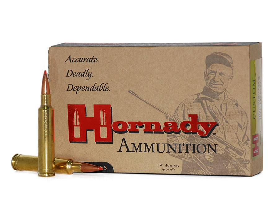 Balas Hornady Custom - 7mm Weatherby - 154 grs - InterBond