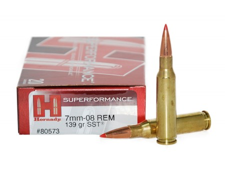 Balas Hornady Superformance - 7mm-08 Rem - 139 grs - SST