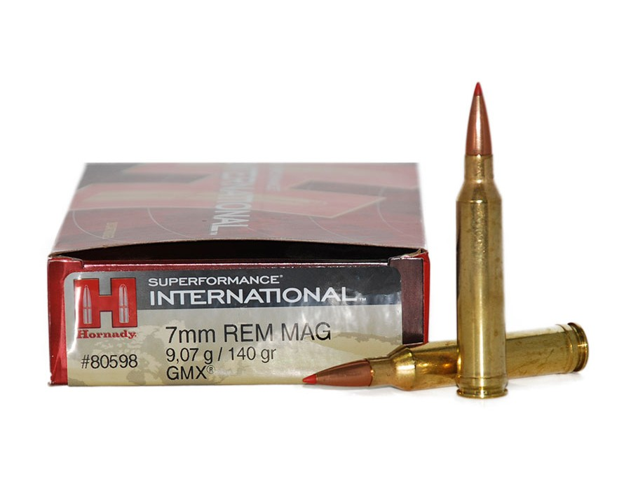 Balas Hornady Superformance International - 7mm Reg Mag - 140 grs -  GMX