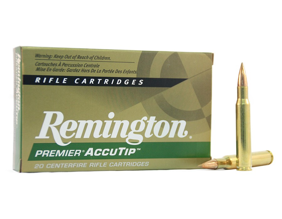 Balas Remington Accutip - 7mm Rem Mag - 150 grs
