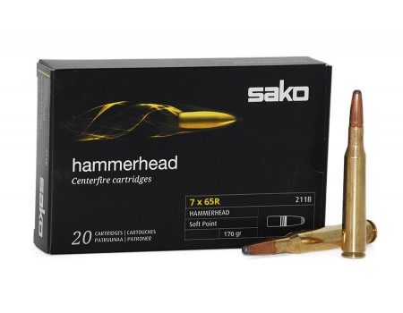 Balas Sako Hammerhead - 7x65R - 170 grs - Soft Point