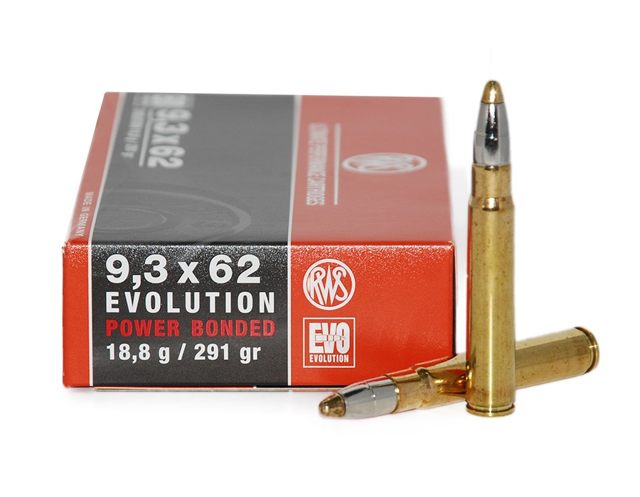 Balas RWS EVO (Evolution) 9,3x62 - 291 grs - Power Bonded