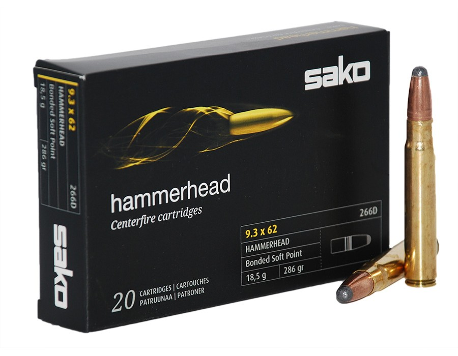 Balas Sako Hammerhead - 9,3x62 - 286 grs - Soft Point