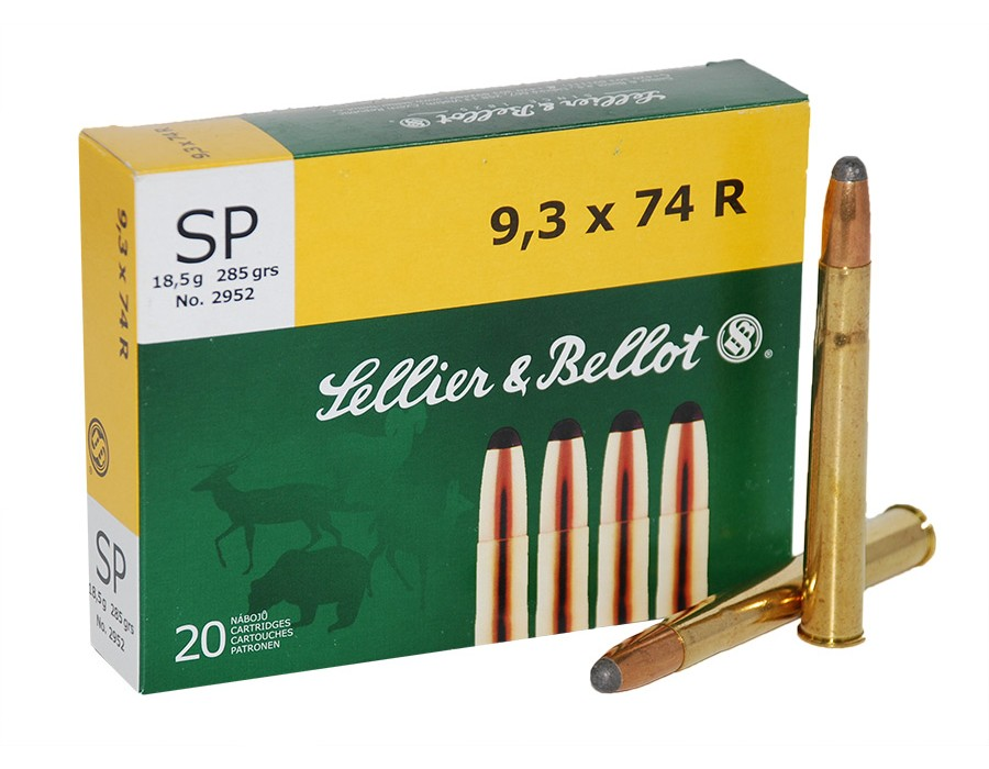 Balas Sellier & Bellot - 9,3 x 74 R - 285 grs - Soft Point