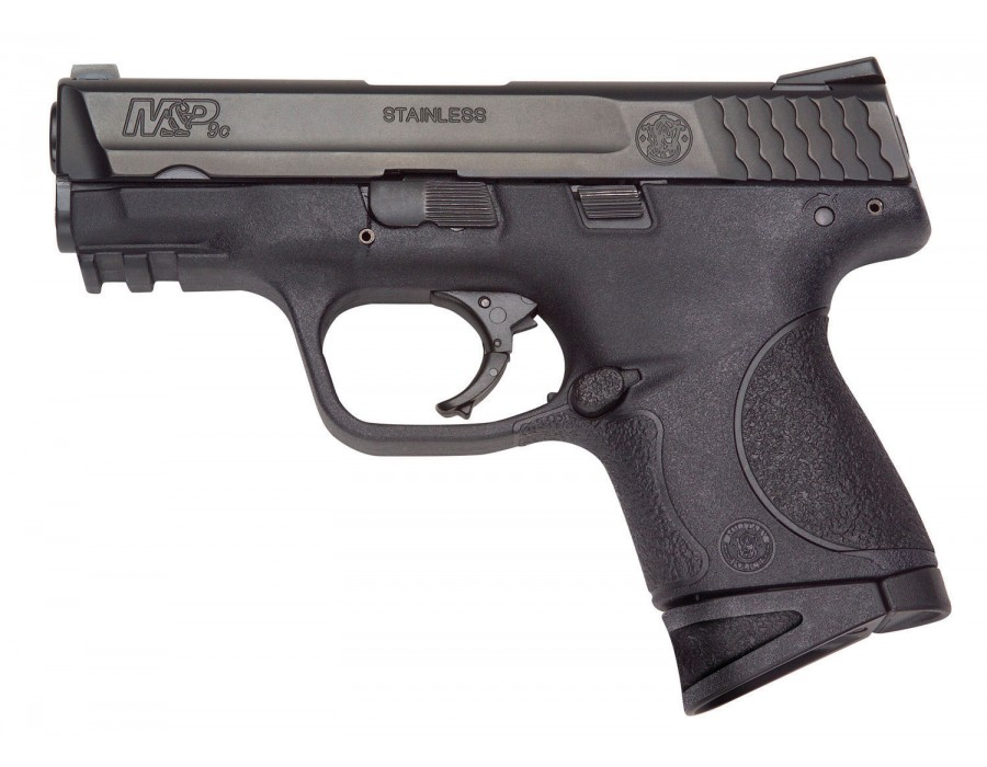 Pistola smith&wesson m&p compact calibre 9mm parabellum.