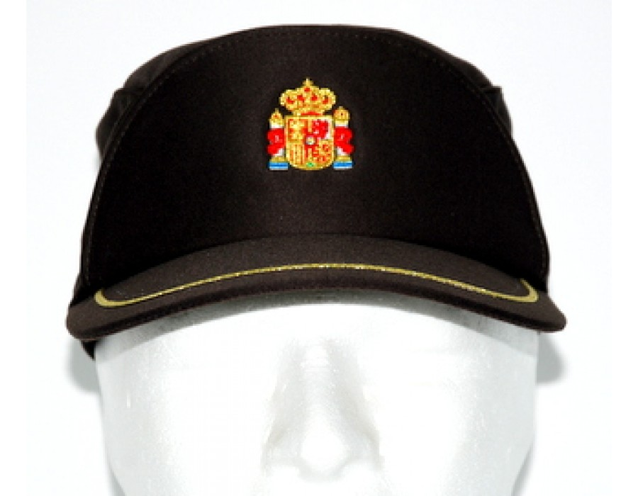Gorra guarda rural marrón ajustable