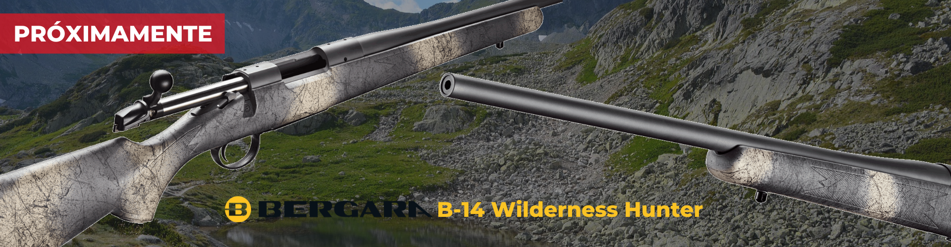 Rifle Bergara B-14 Wilderness Hunter