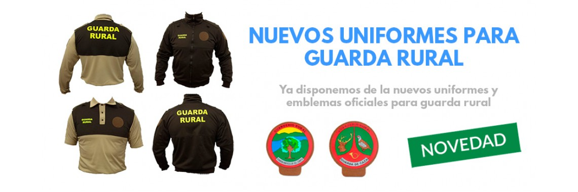 Uniformidad guarda rural - Portal de caza y ocio ...